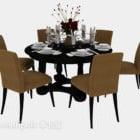 Southeast Asia Restaurant Table Chair
