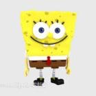 Spongebob खिलौना चरित्र