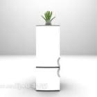 Elegant White Refrigerator