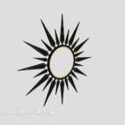 تصميم الديكور للشمس