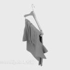 T-shirt manica corta su appendiabiti