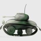 Cartoon Tank Toy