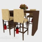 Traditional Exquisite Table Chair Set