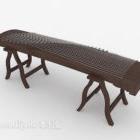الآلات الموسيقية التصميم التقليدي Guzheng