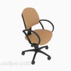 Style de roues de chaise de bureau traditionnel