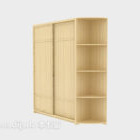 Two Doors With Partition Wardrobe
