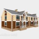 Dwupiętrowy bungalow