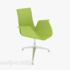 Krzesło biurowe w kształcie litery U.