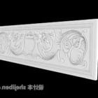 Wall Stone Carving Gips
