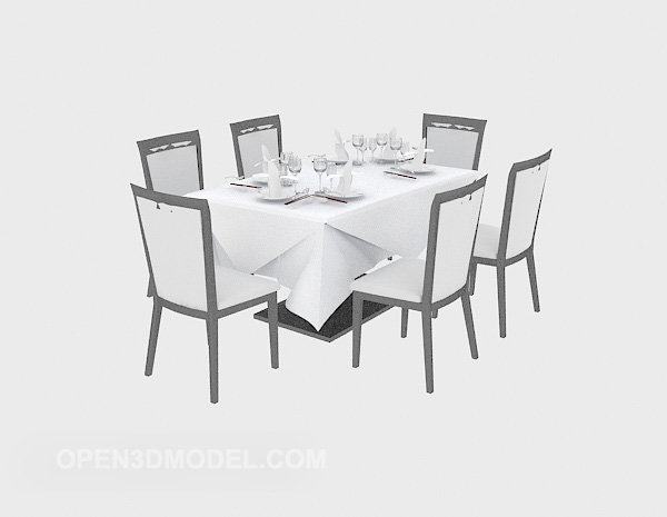 Western Dining Chairs Table Furniture