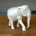 白象の置物
