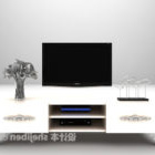 White European Tv Cabinet Furniture