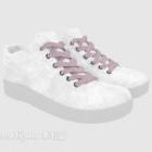 白い布の靴