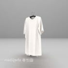 白いドレスのファッションV1