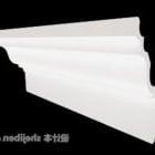 Composant de gypse blanc