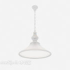 White Light-colored Chandelier