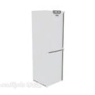 Refrigerator Two Doors White Color