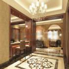 Interiør i hotellobbypas
