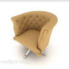 Gelber Comfort Home Stuhl