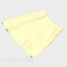 黄色のスカート