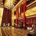 Wnętrze holu Centrum Teatralnego