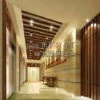 Design della hall dell'hotel