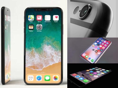 12 Colección de modelos de iPhone 3D