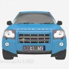 Auto Range Rover blu