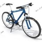 Górski styl wspinaczki na rowerze