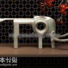 Elephant Sculpture Tableware Decorative