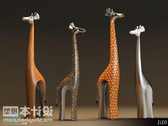 Giraffe Figurine Decoration