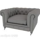 Fotel Sofa Chesterfield