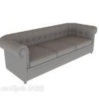 Podwójna sofa Chesterfield