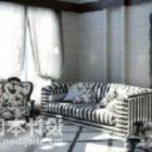 Połącz wzór paska krzesła sofy
