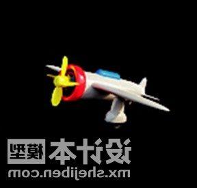 Plastic Airplane Children Toy