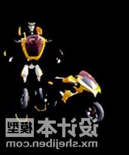 Robot With Bike Children Toy