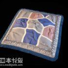 Kwadratowy wzór w kratkę poduszkę