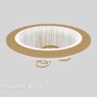 Żyrandol sufitowy w kształcie rundy