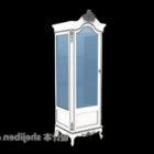 Antique White Wine Cabinet