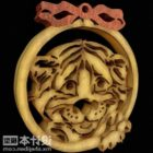 New Year Jewelry Tiger Shaped Carving
