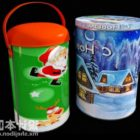 New Year Cake Cylinder Gift Box