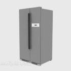 Stile moderno del frigorifero fianco a fianco