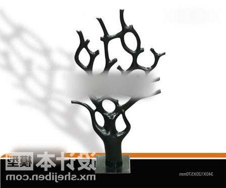 Tableware Black Dry Tree Decorating