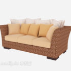 Beautiful Bamboo Sofa