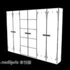 Wardrobe White Doors