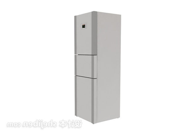 Grey Refrigerator Three Doors