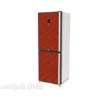 Roter Kühlschrank Zwei Türen