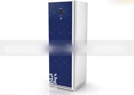 Blue Color Refrigerator