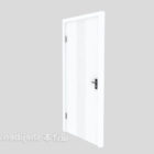 Door With Frame And Handle