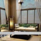 Hall Interior Mit Sofa Sessel Möbel Set